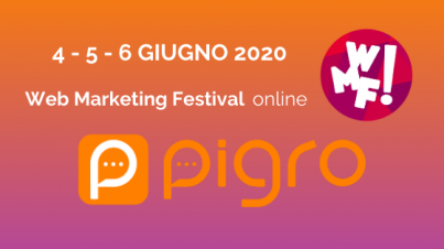 pigro al web marketing festival 2020