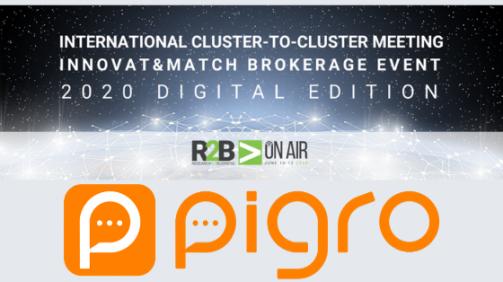Pigro a Innovat&match 2020