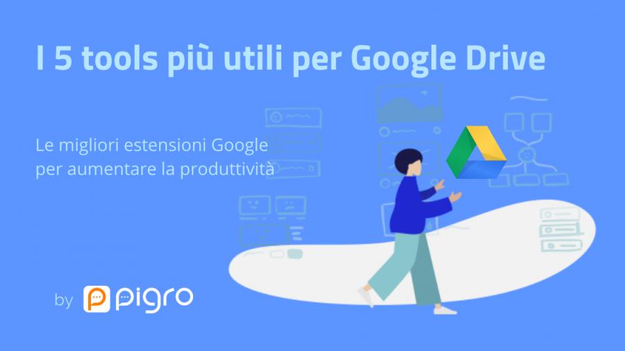 5 Google tools per Google drive