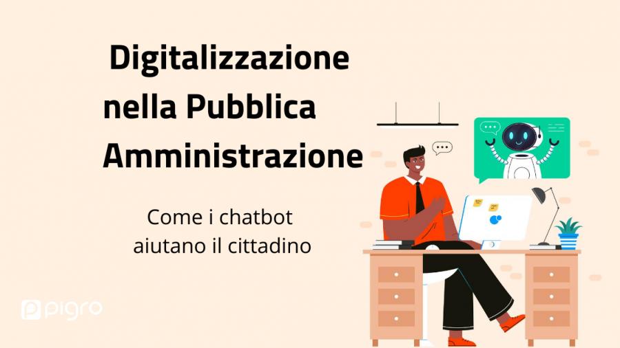 digitalizzazione pa i chatbot aiutano il cittadino