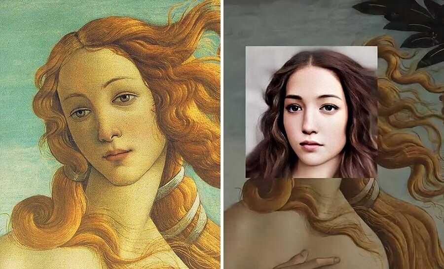arte e tecnologia: Sandro Botticelli - La Nascita di Venere Arte e tecnologia